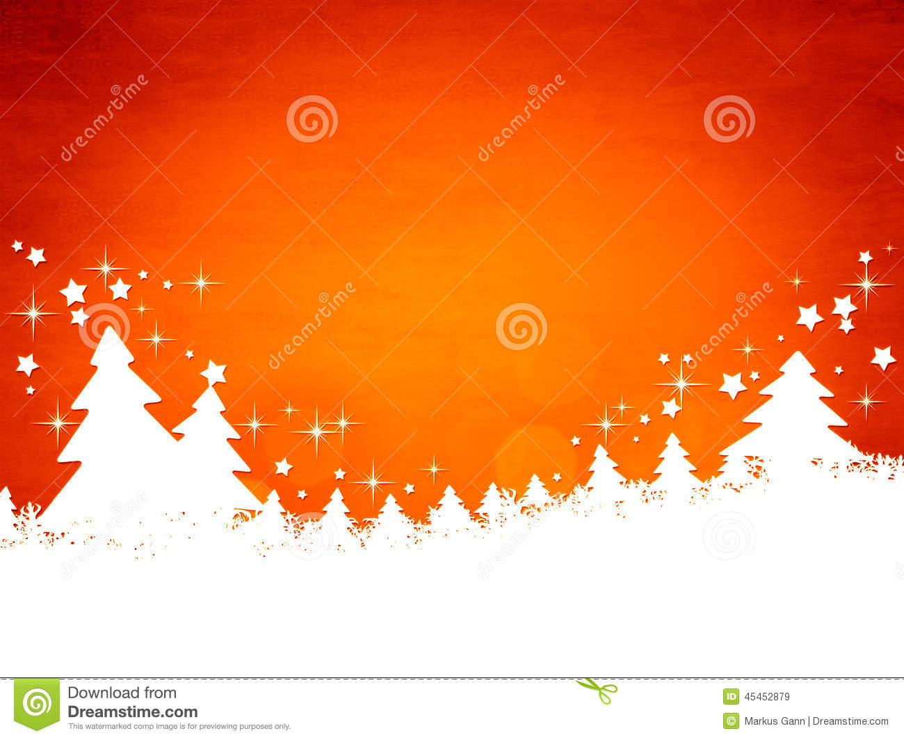 Red Christmas Background Stock Illustration. Image Of