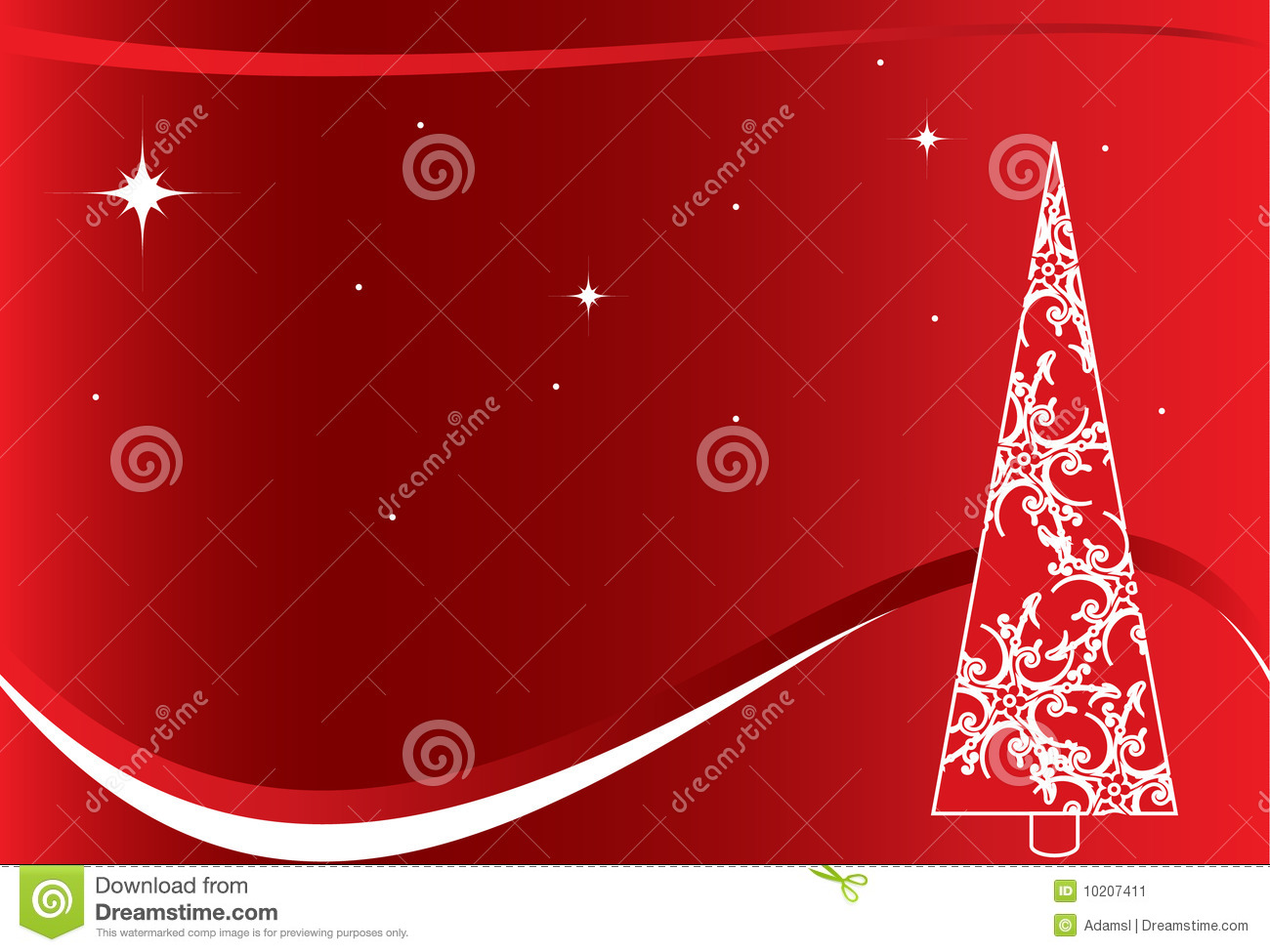 Red Christmas Background With White Tree Stock Image ... Red Christmas Tree White Background