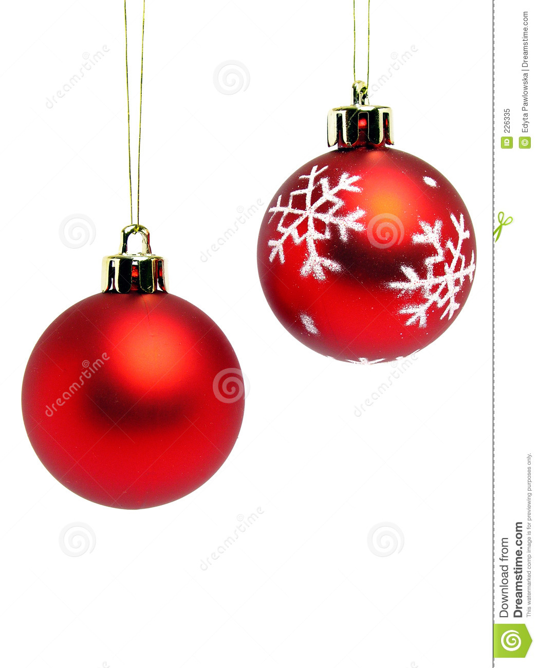red christmas balls royalty free stock photo image 226335. Black Bedroom Furniture Sets. Home Design Ideas