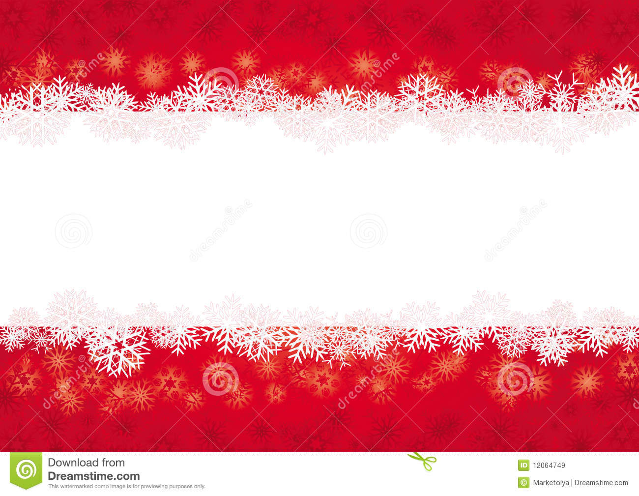 Red christmas card stock vector image of seasonal for Christmas red and white