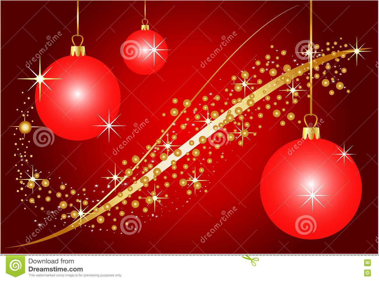 Red christmas decoration background royalty free stock for Background decoration images