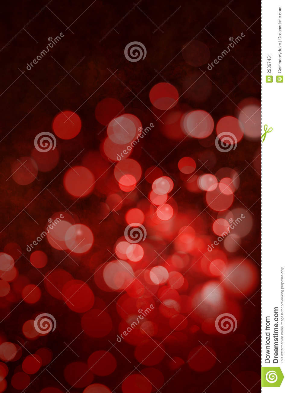 Red Christmas Lights Abstract Background Stock Image ...