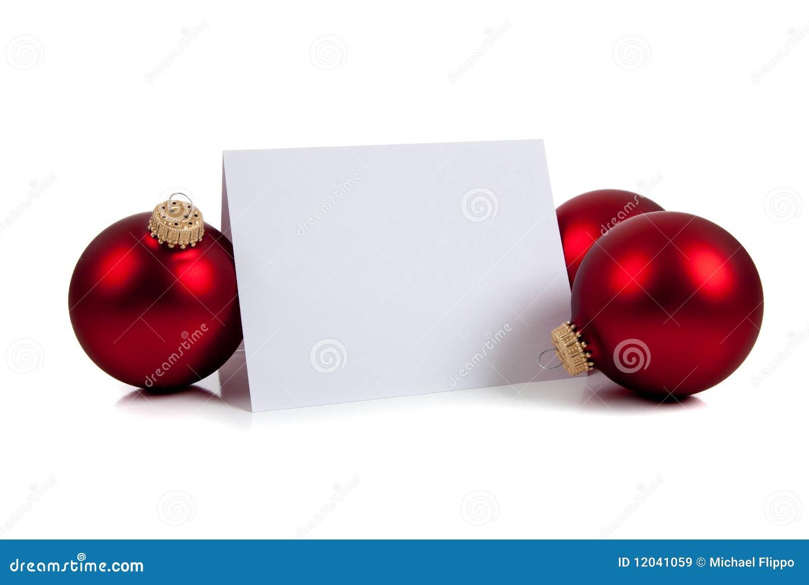 christmas notecard