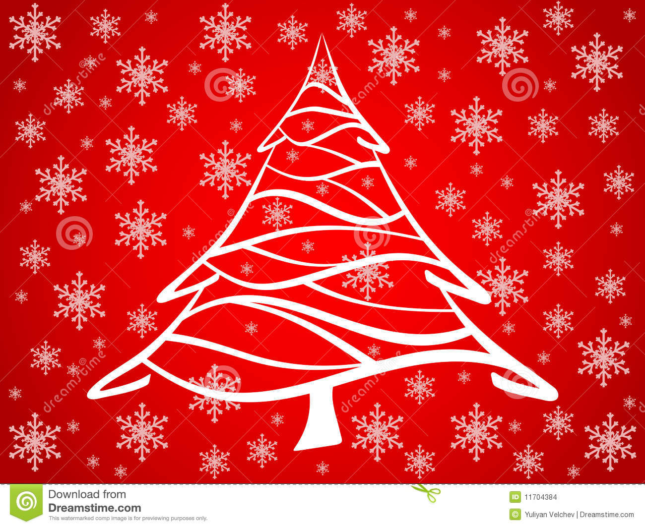 red christmas tree background - photo #41