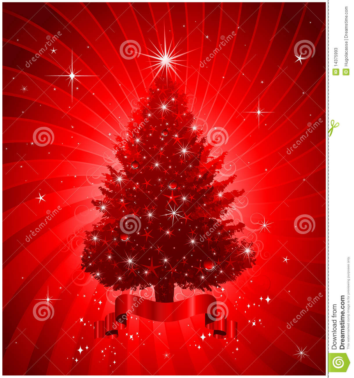 red christmas tree background - photo #18