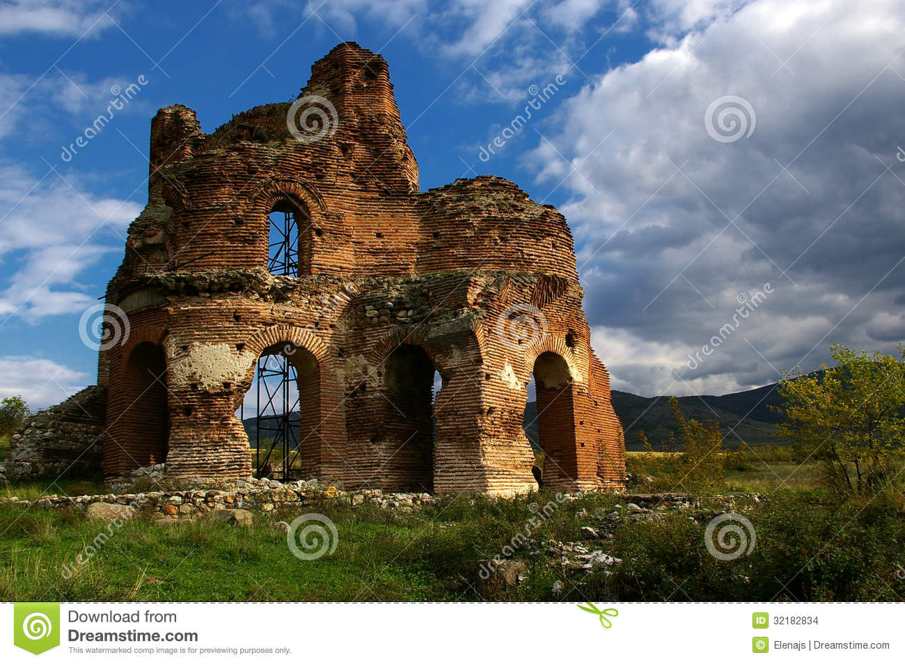 Red Church Stock Images - Image: 32182834