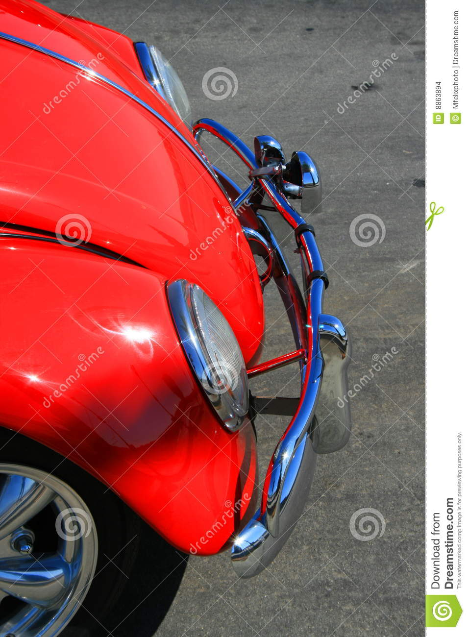 red car headlights close up royalty free stock photography 74160221. Black Bedroom Furniture Sets. Home Design Ideas