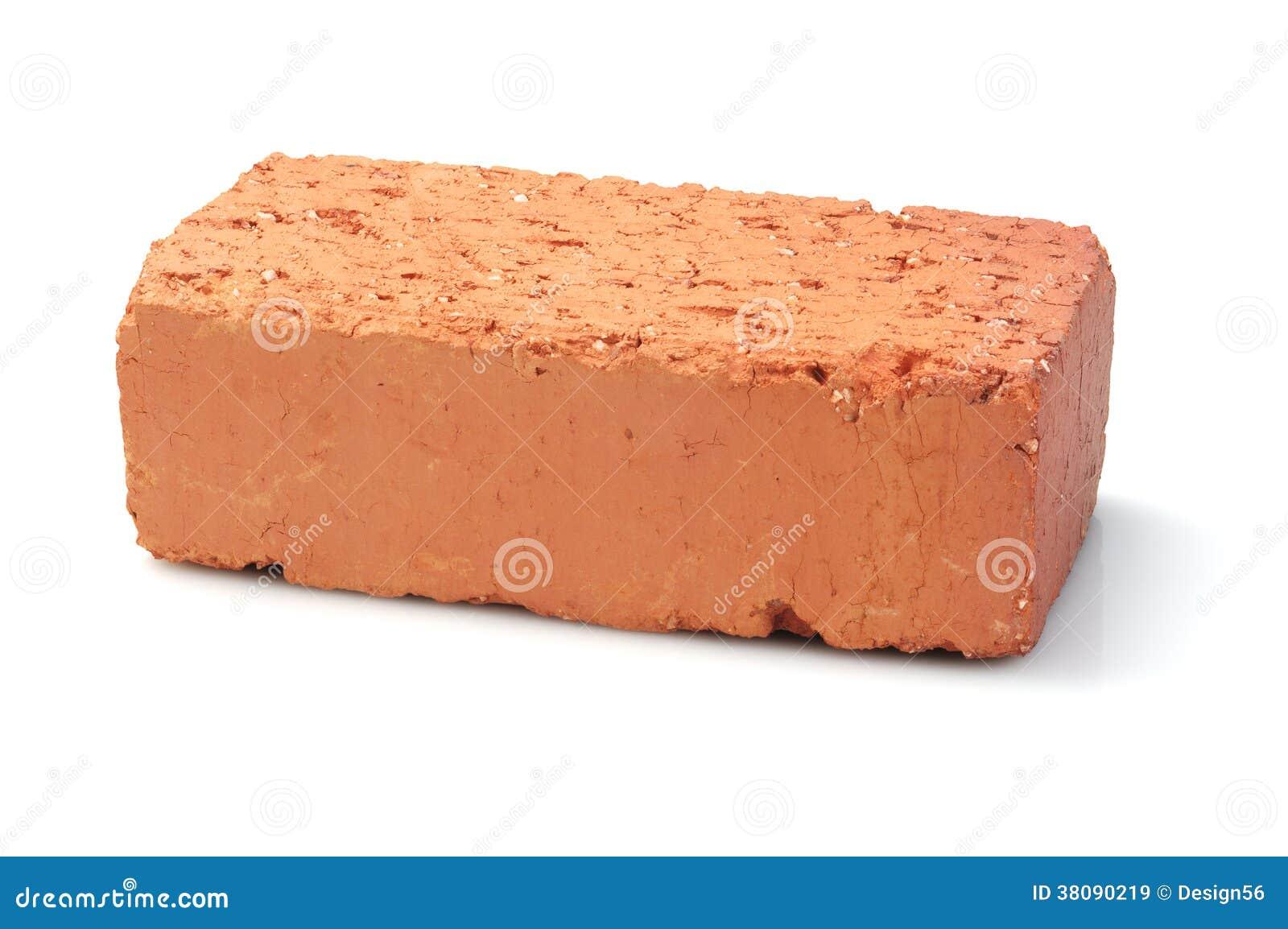 Red Clay Bricks : Red clay brick stock photo cartoondealer
