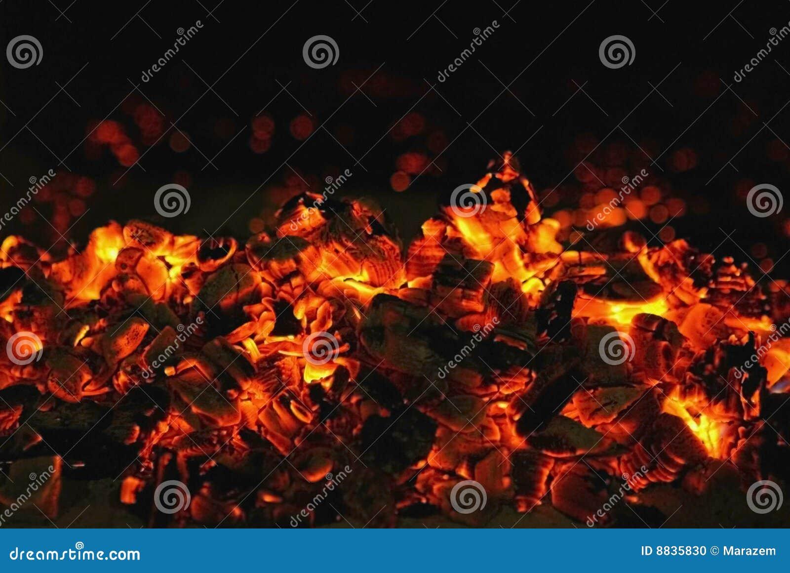 Red coal