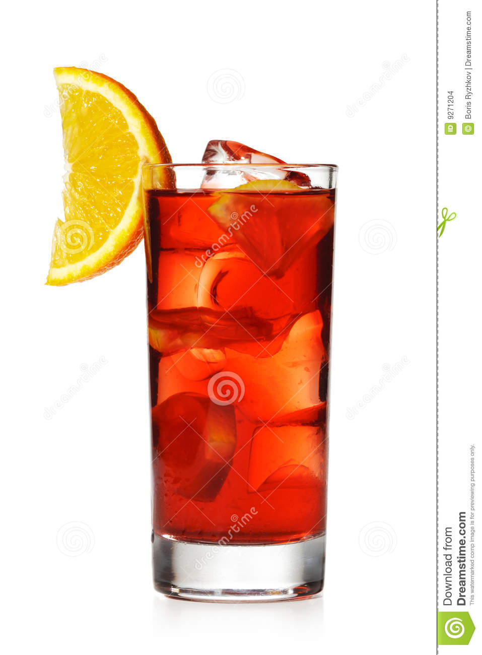Red cocktail stock images image 9271204 for Cocktail orange