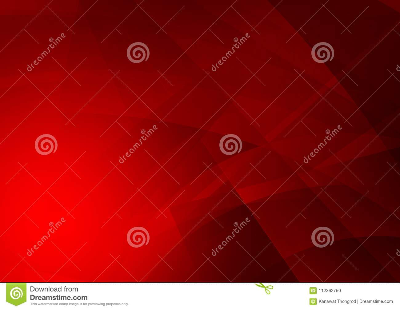 Red color geometric abstract background, Graphic design