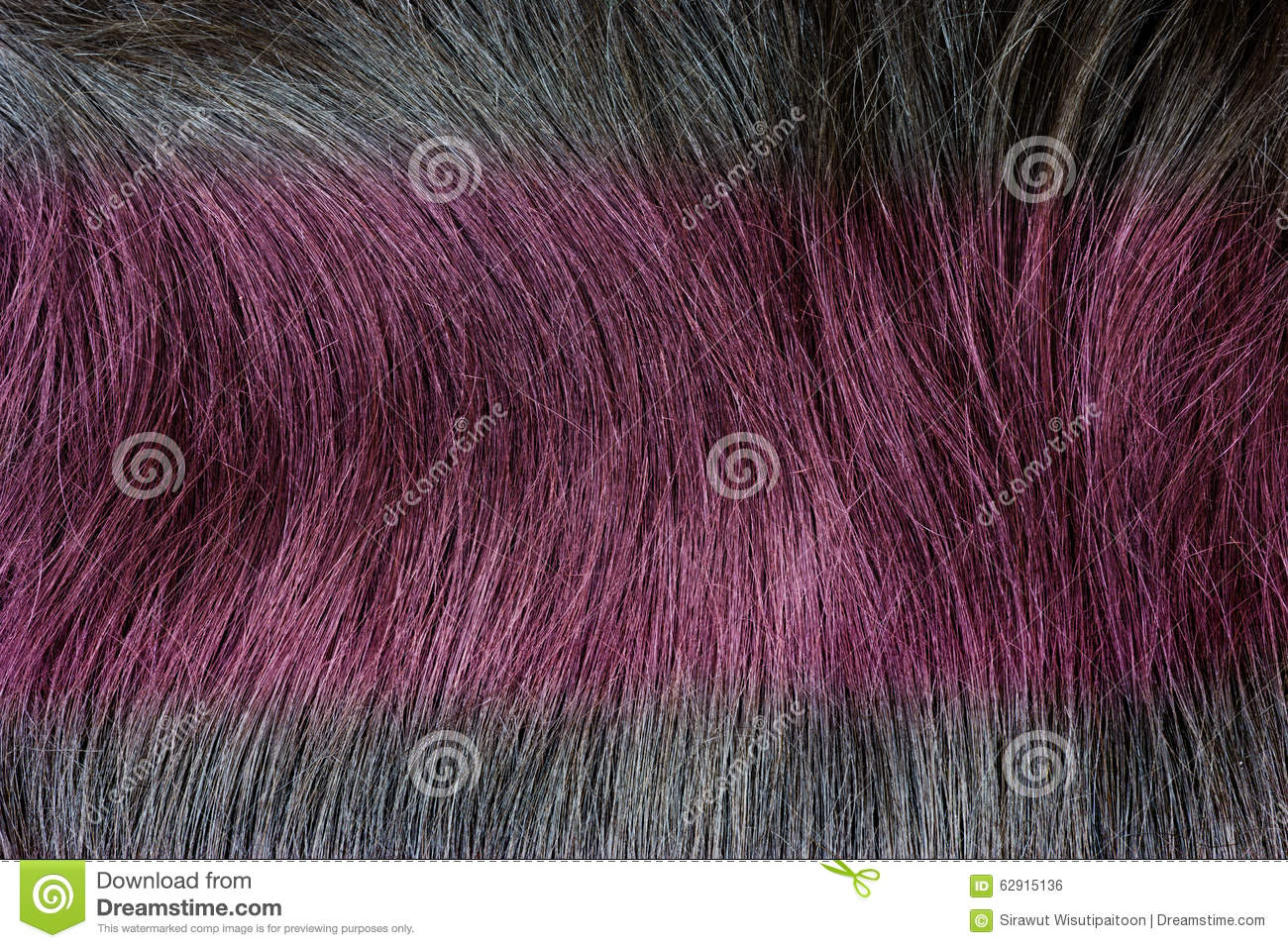 Red color hair texture as background stock photo image - Dreaming about the color red ...