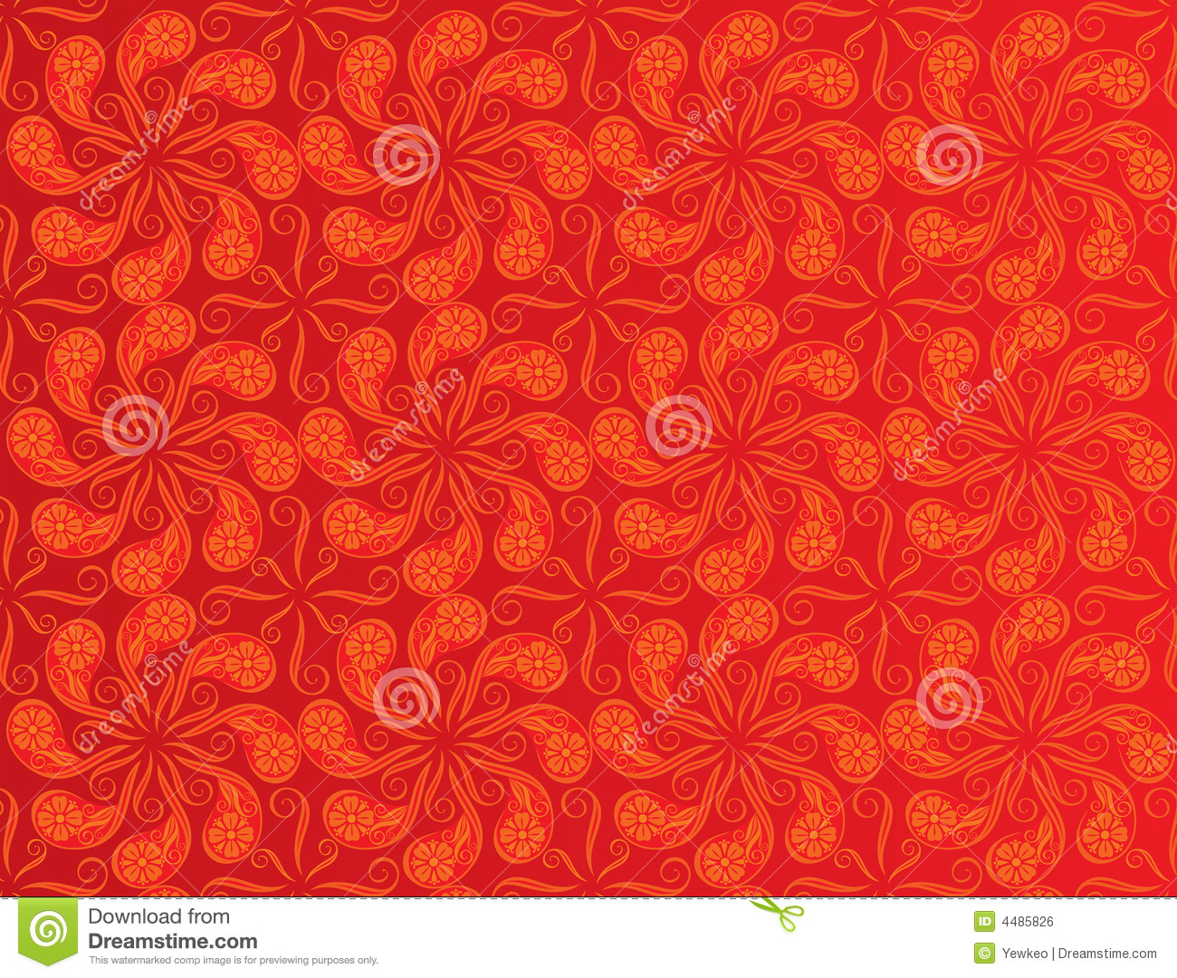 red color pattern design stock vector  image of foliage