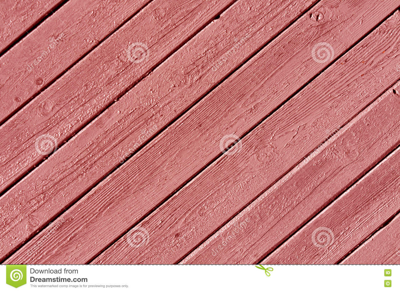 Red Color Wood House Wall Surface. Stock Image - Image of plank ...