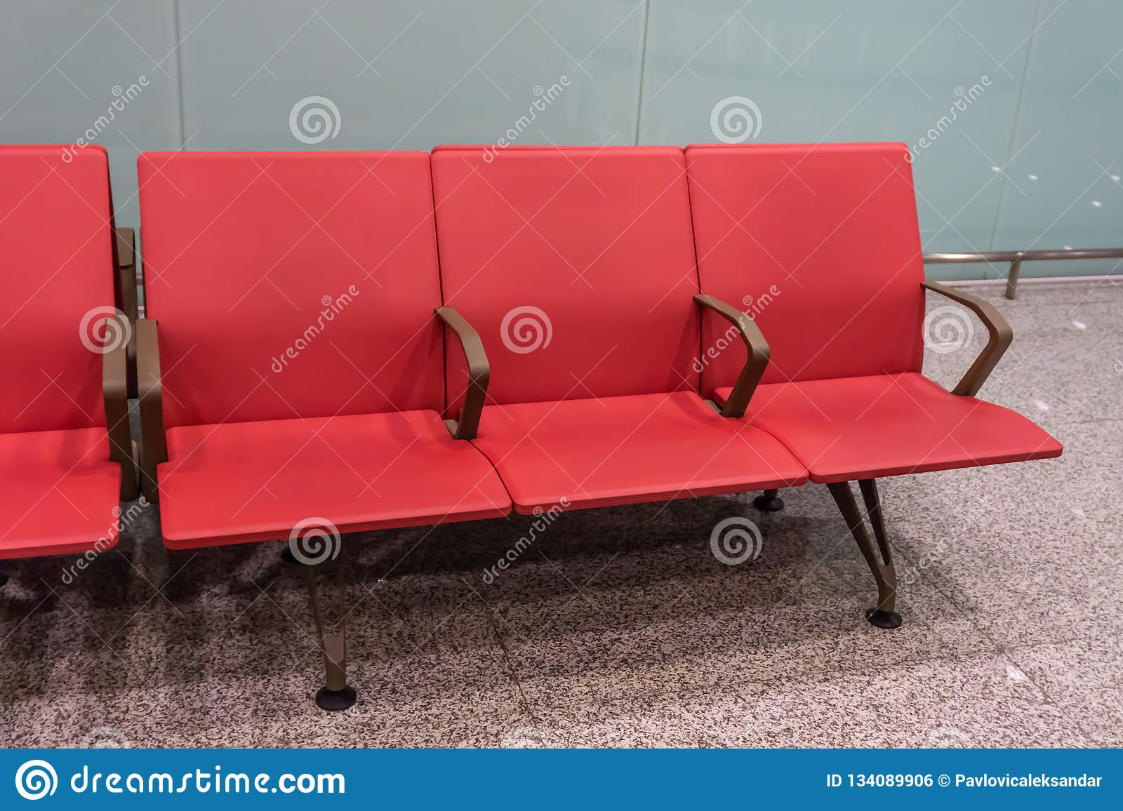 Airport Seating Row