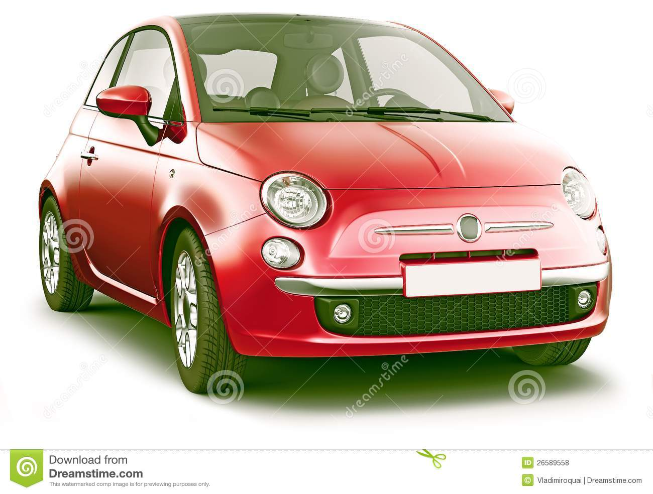 royalty free stock photos red compact hatchback image 26589558. Black Bedroom Furniture Sets. Home Design Ideas