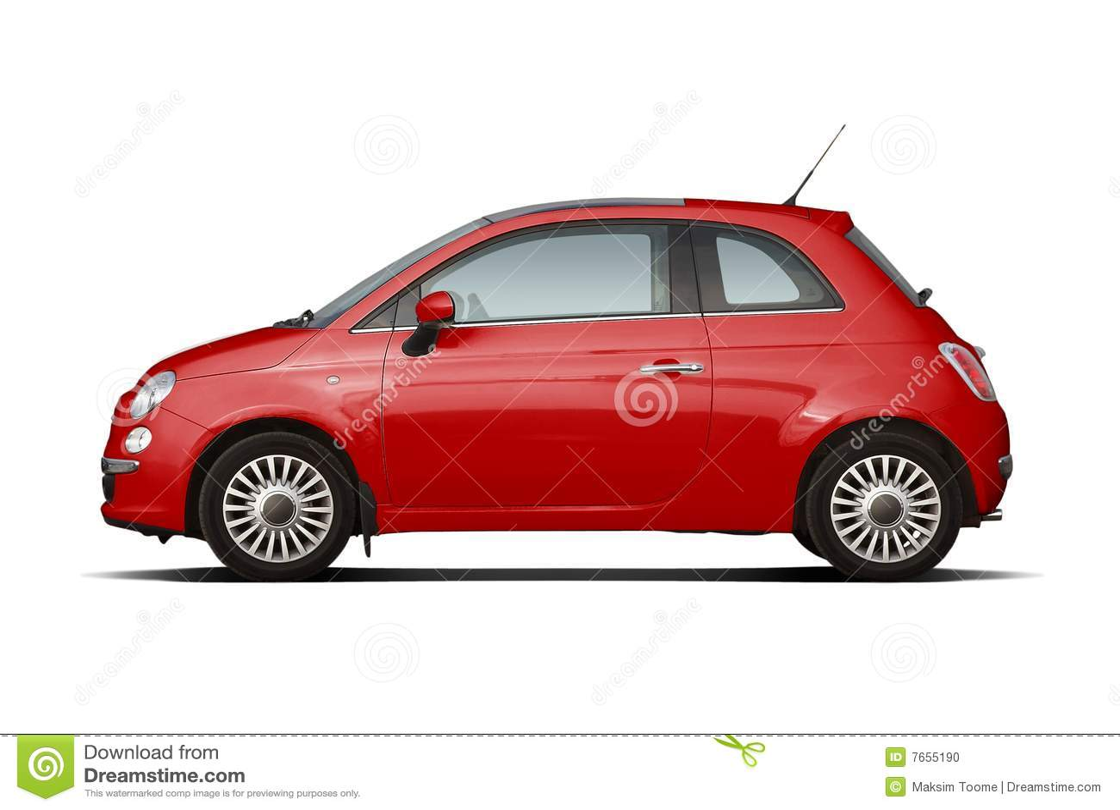 red compact hatchback stock photo image 7655190. Black Bedroom Furniture Sets. Home Design Ideas
