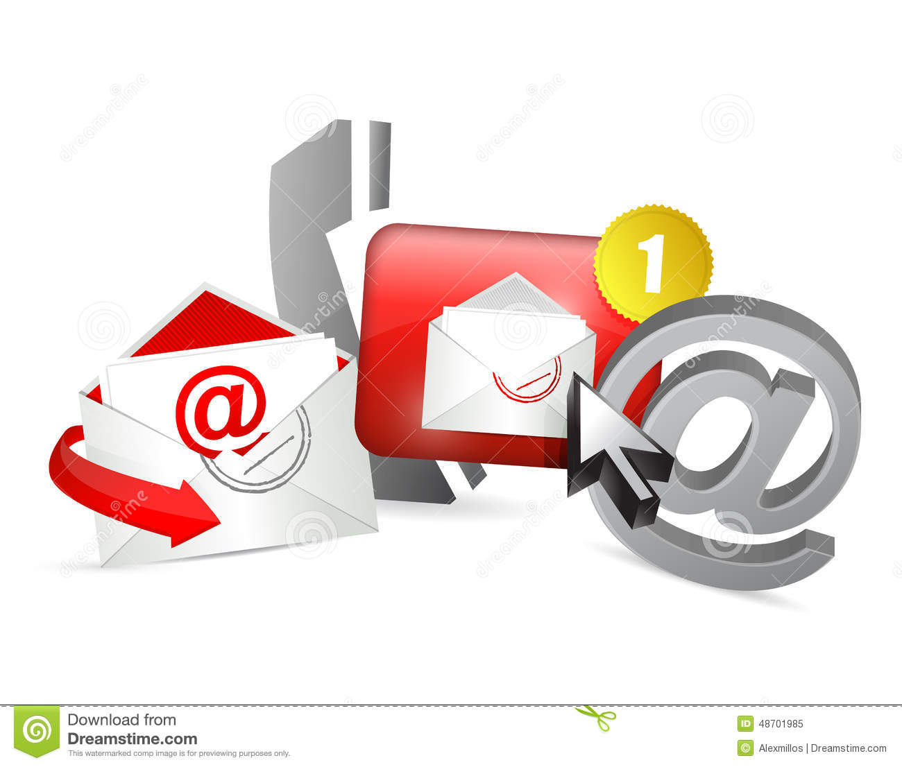 Contact Us Red >> Red Contact Us Icons Graphic Concept Stock Illustration