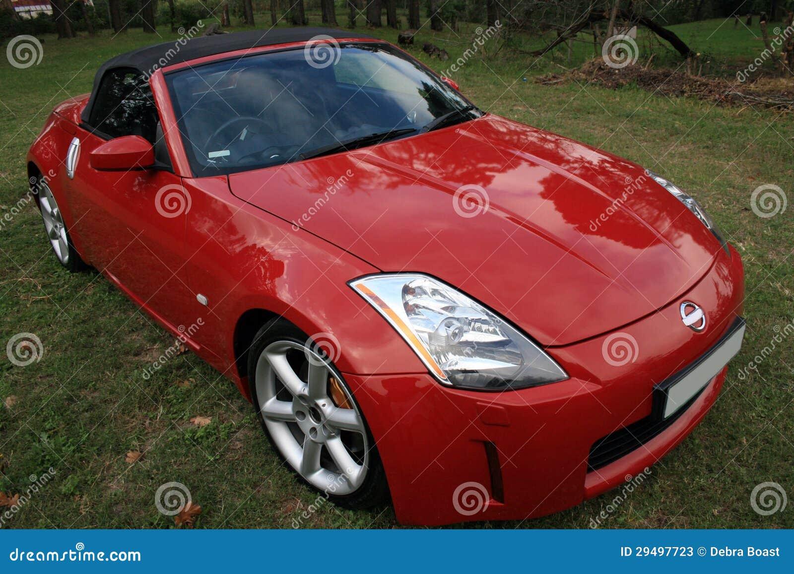 Red Convertible Sports Car Stock Photos Image 29497723