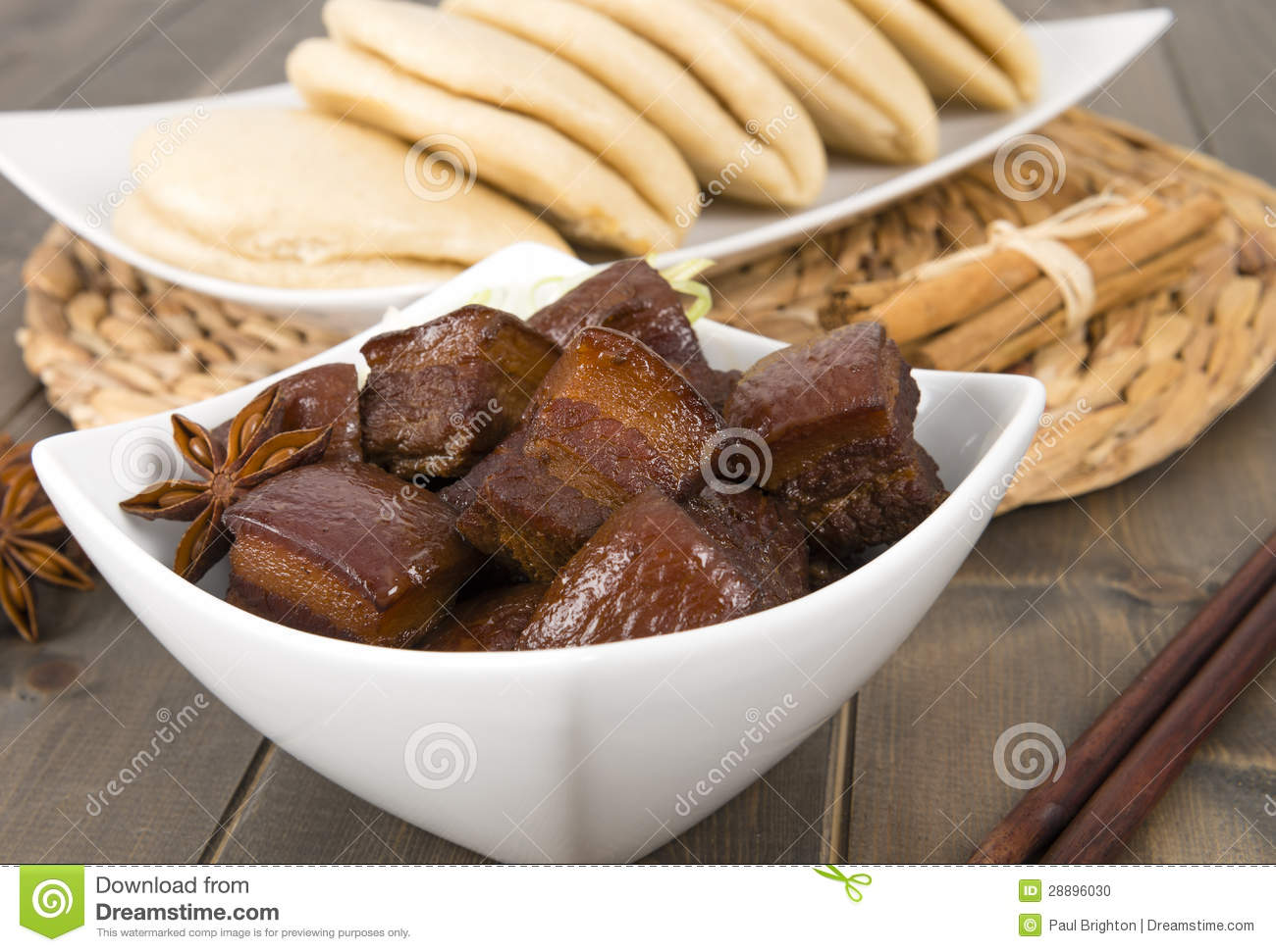 Red Cooked Pork Stock Photo - Image: 28896030