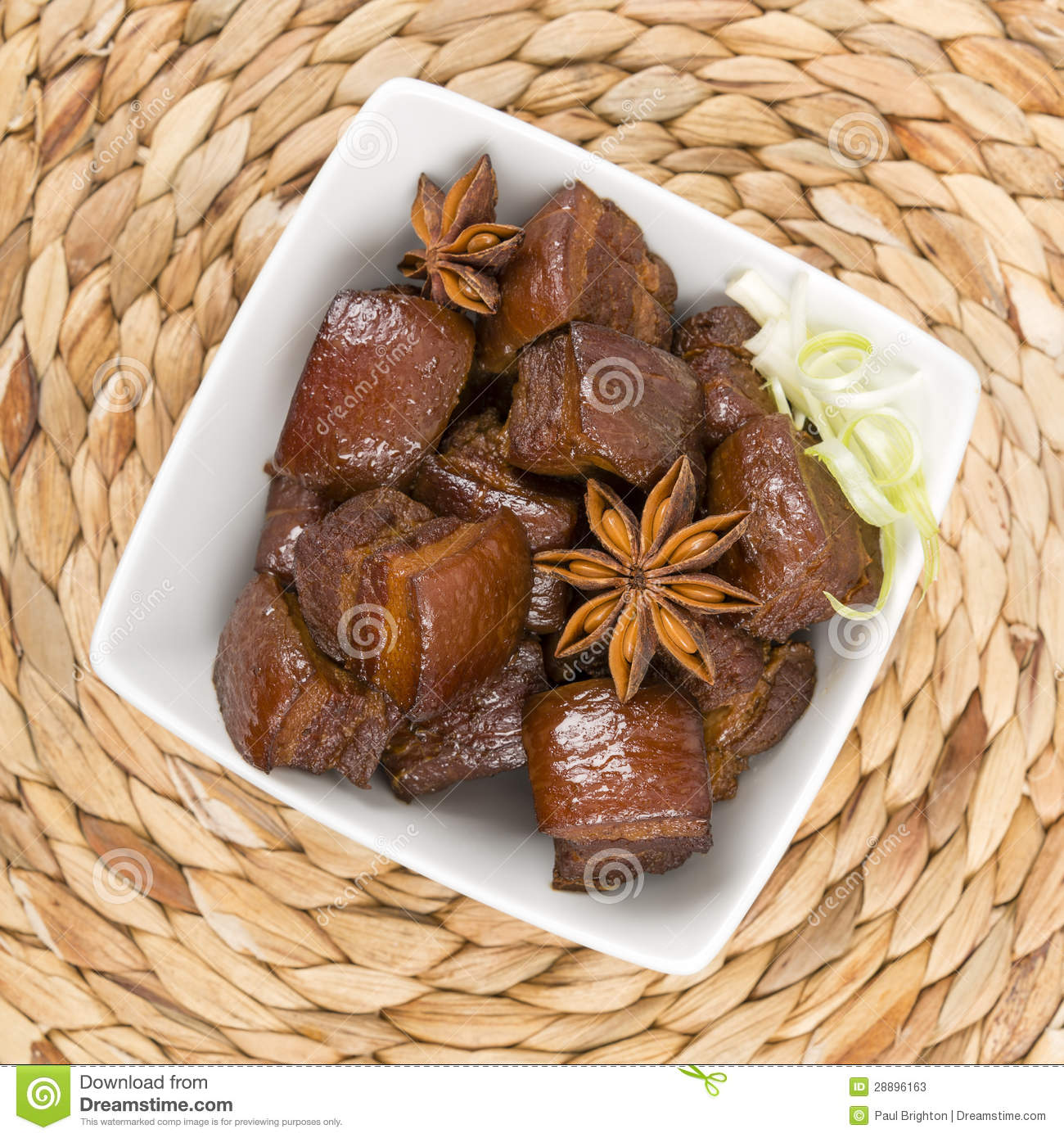 Rou (Red Cooked Pork) - Chinese pork belly caramelized and braised ...