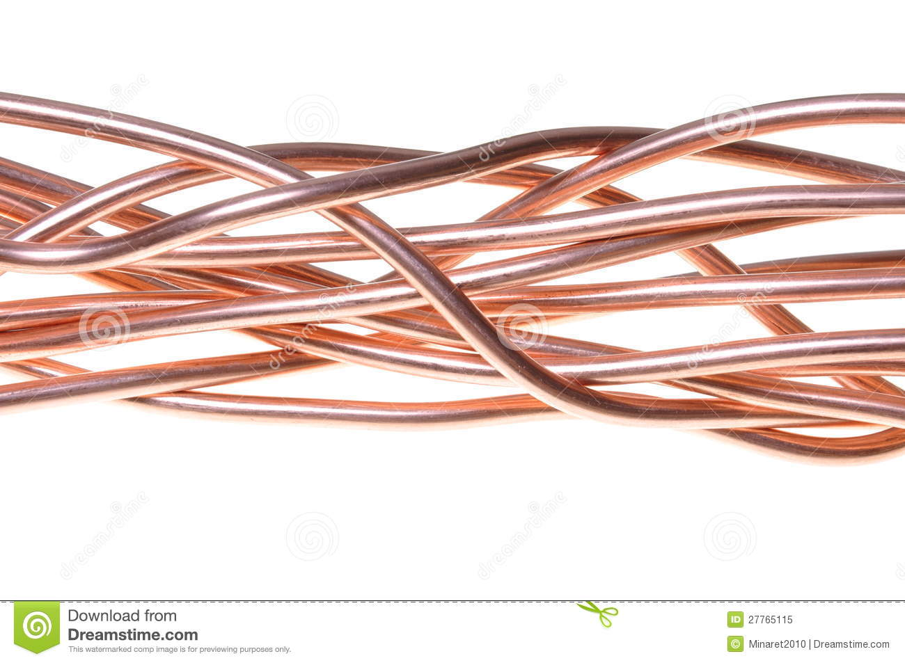 Copper Cable Market Share : Red copper wire industry royalty free stock photo image