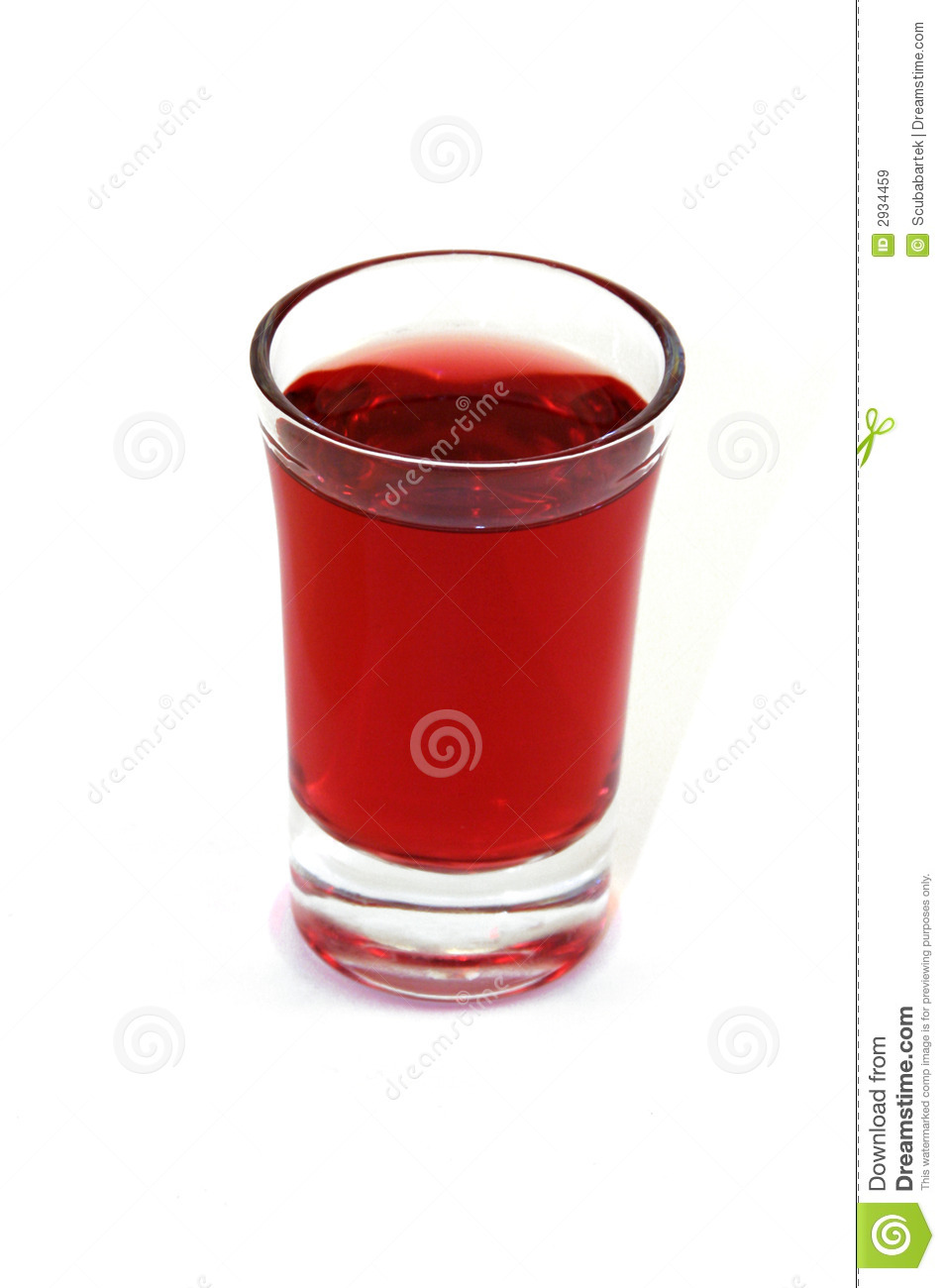 Red Cordial Stock Image Image Of Alcohol Cocktail