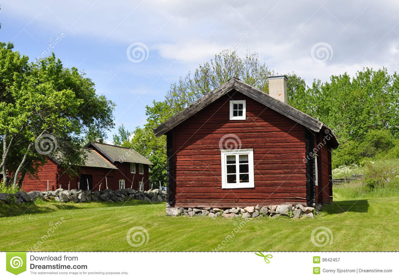 Red cottage royalty free stock photography image 9642457 for Red cottage