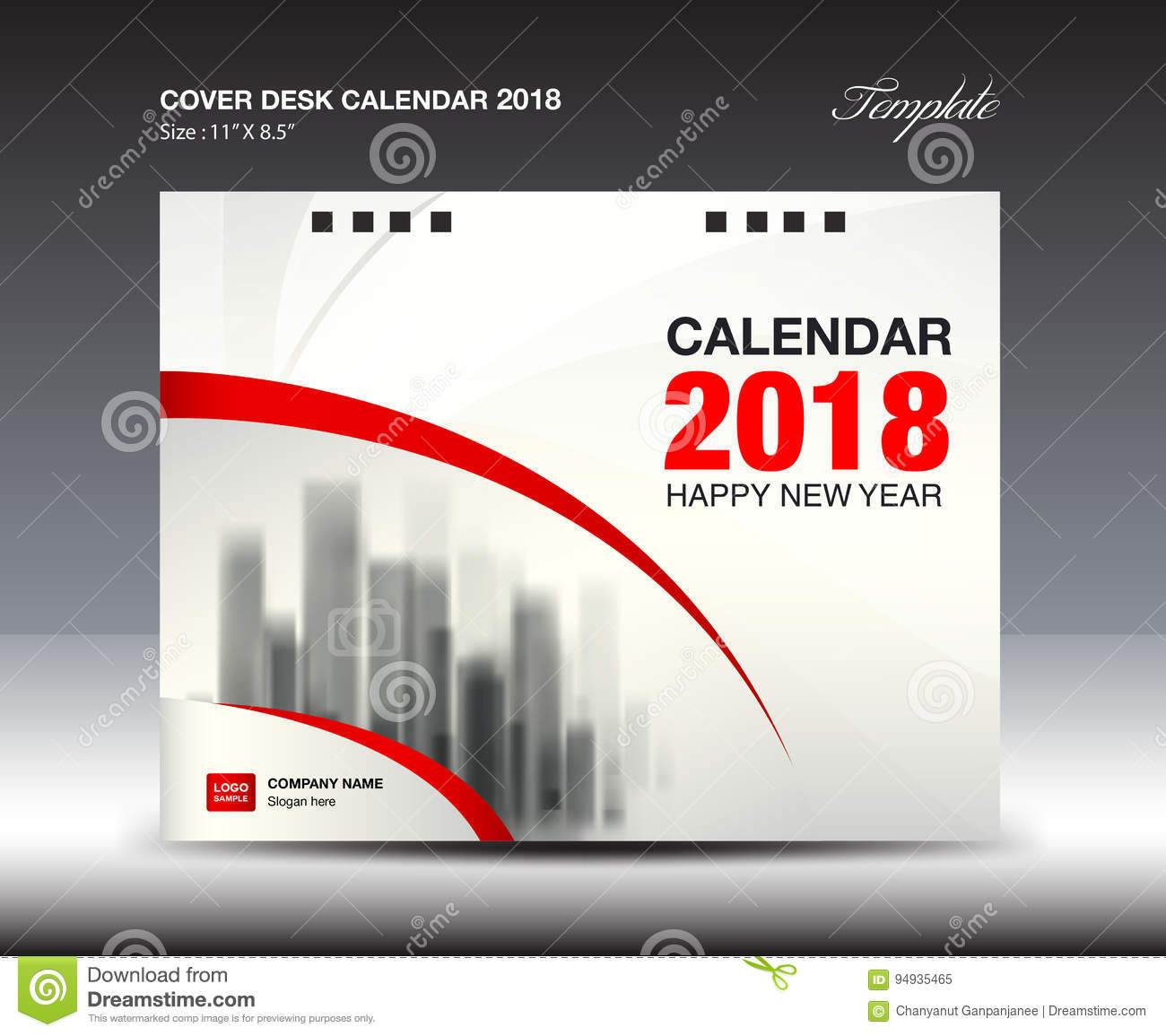 Corporate Calendar 2018 : Spa cartoons illustrations vector stock images