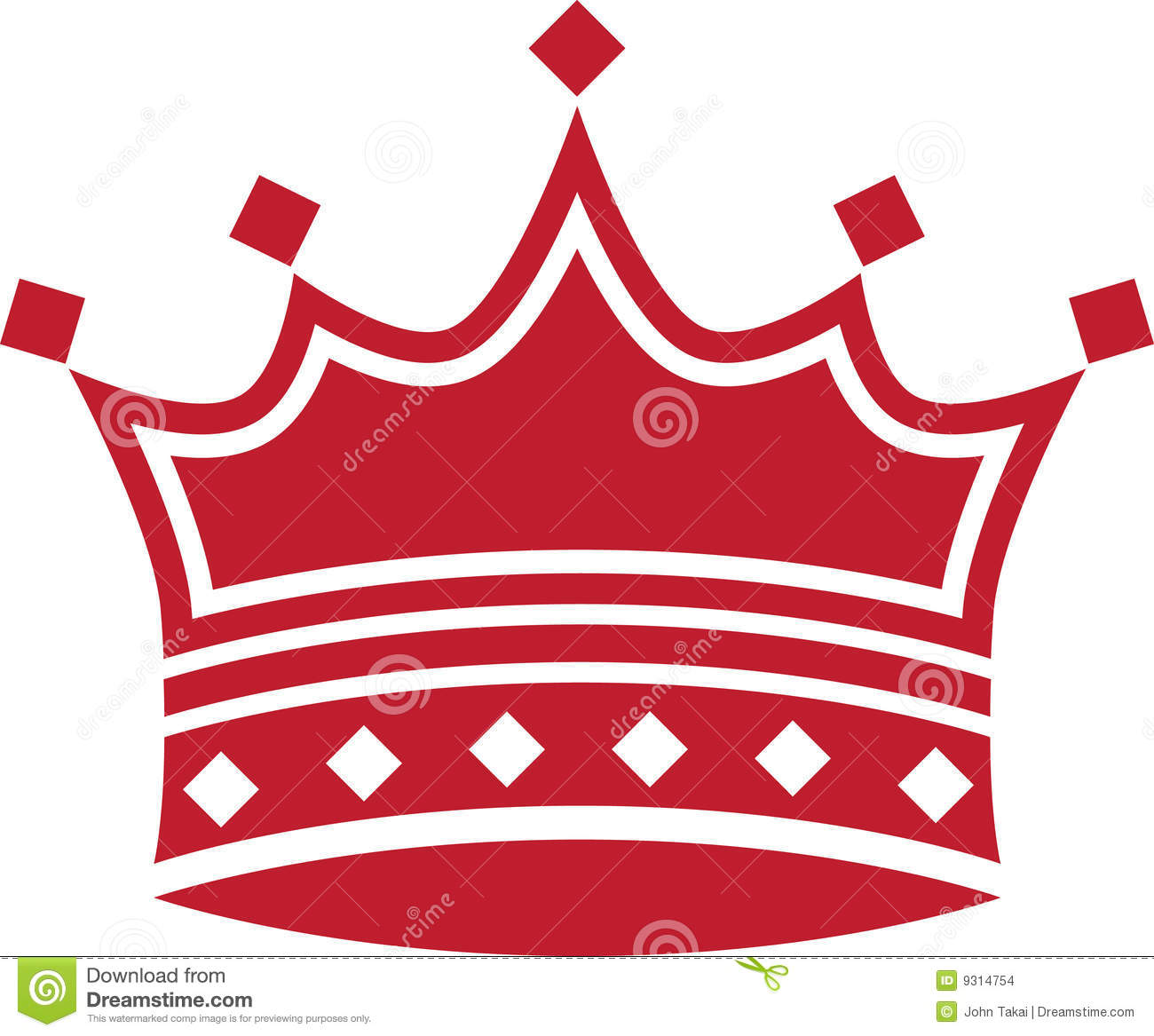 red crown clipart - photo #14