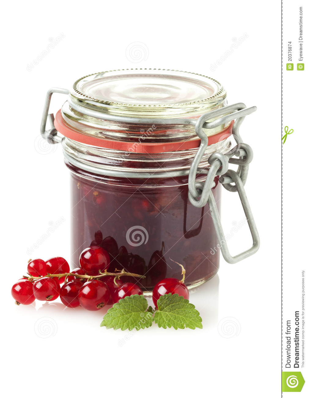 Red Currant Jam Stock Images - Image: 20376874