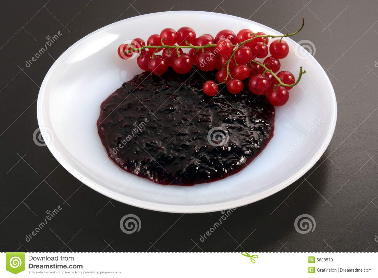 Red Currant Jam Royalty Free Stock Images - Image: 5688579