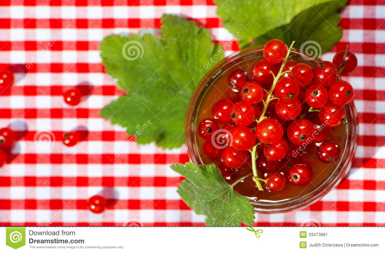 Red Currant Jam Stock Image - Image: 33473961