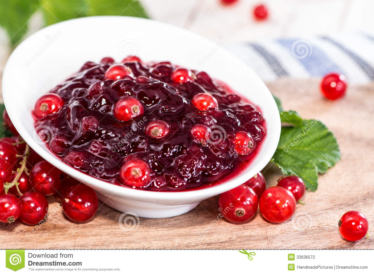 Red Currant Jam Stock Photography - Image: 33636572