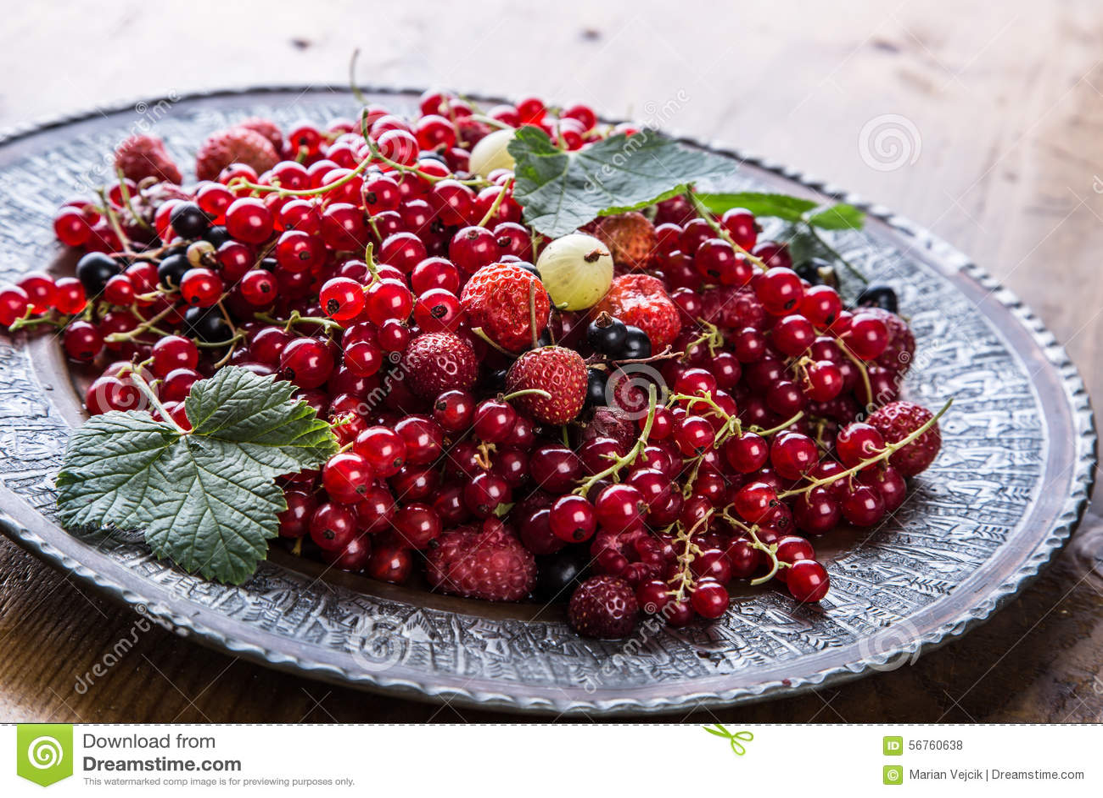 Green Cherries Red Fruit Cake