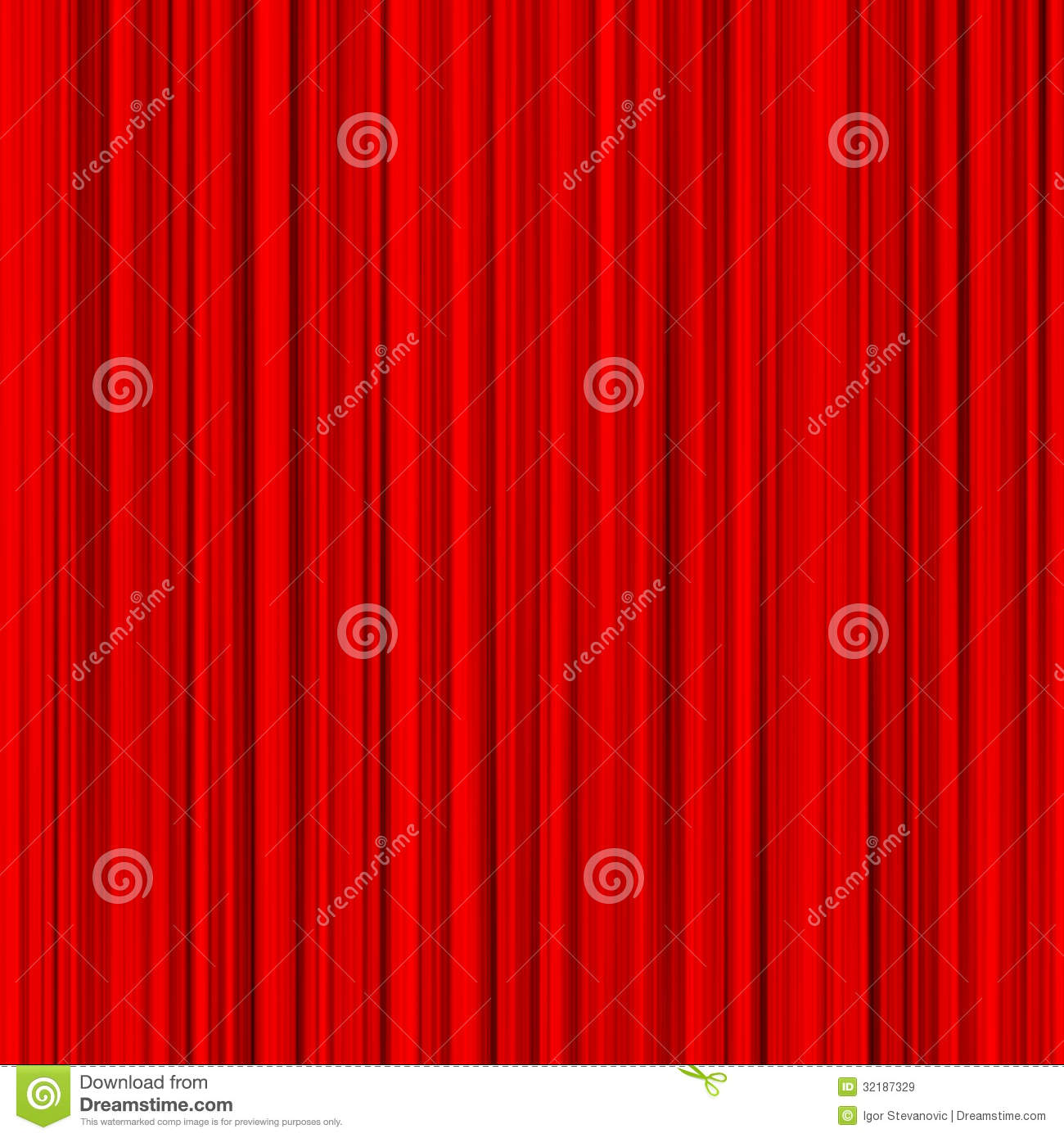 Red curtain royalty free stock images image 32187329