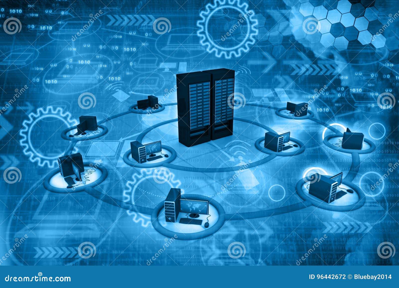 Red de computación de la nube