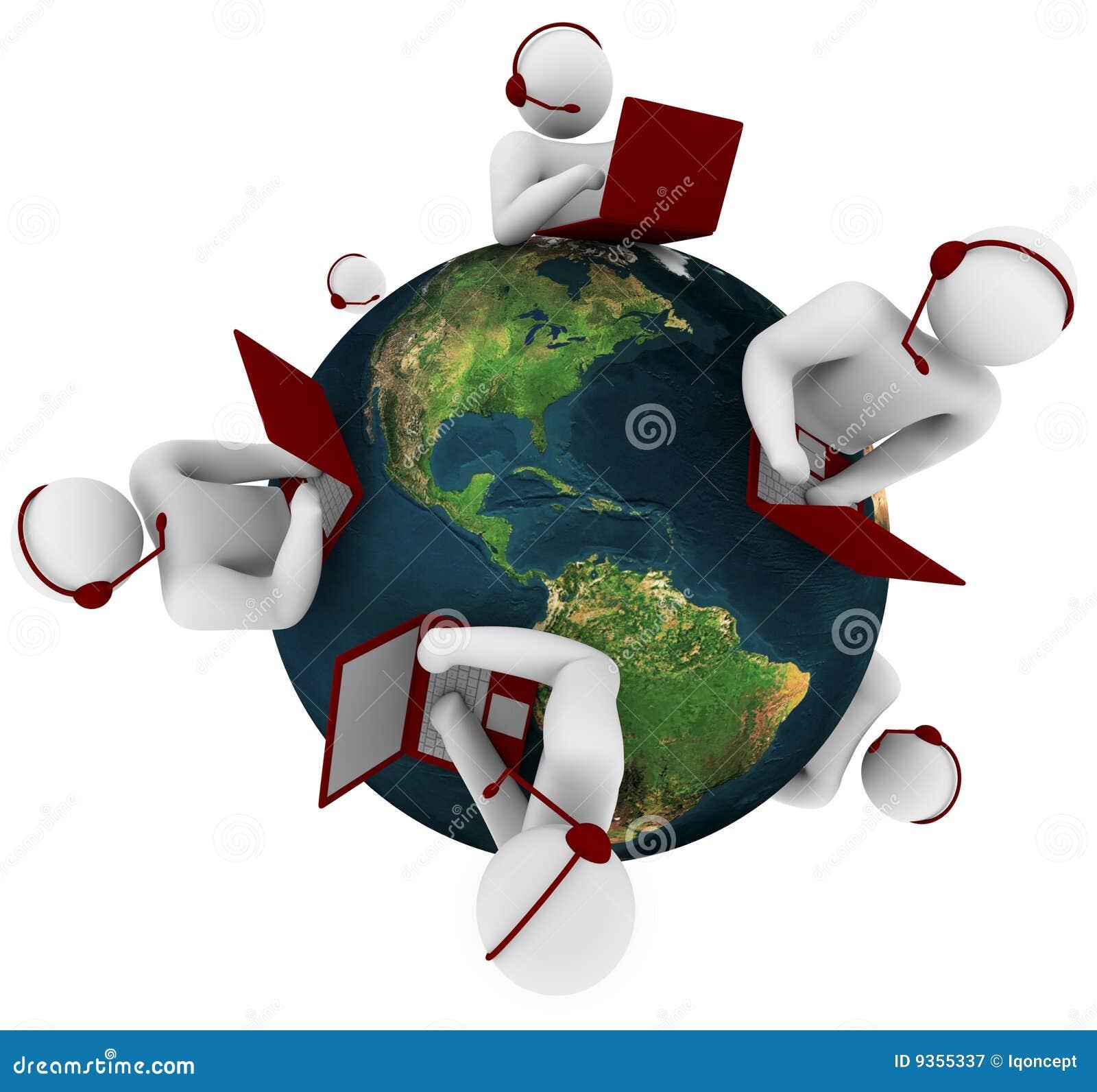 Red de la atención al cliente - global