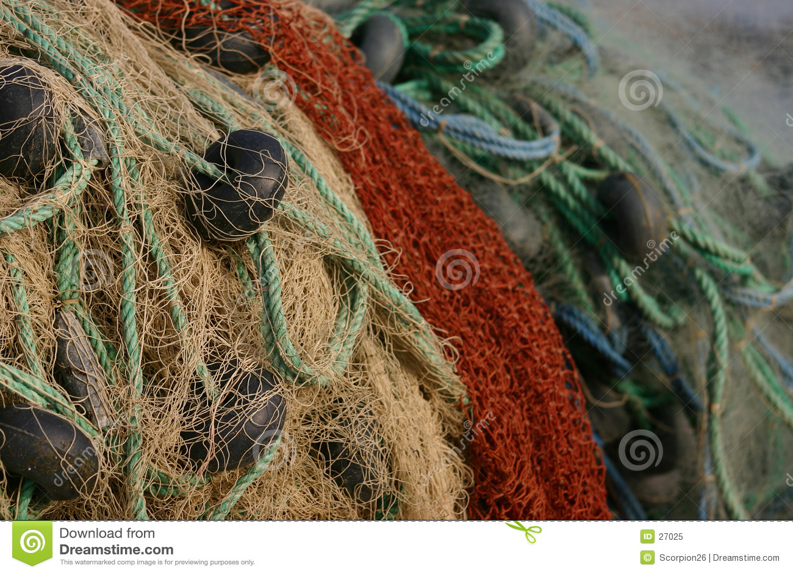Download Red de pesca imagen de archivo. Imagen de pesca, fishery - 27025
