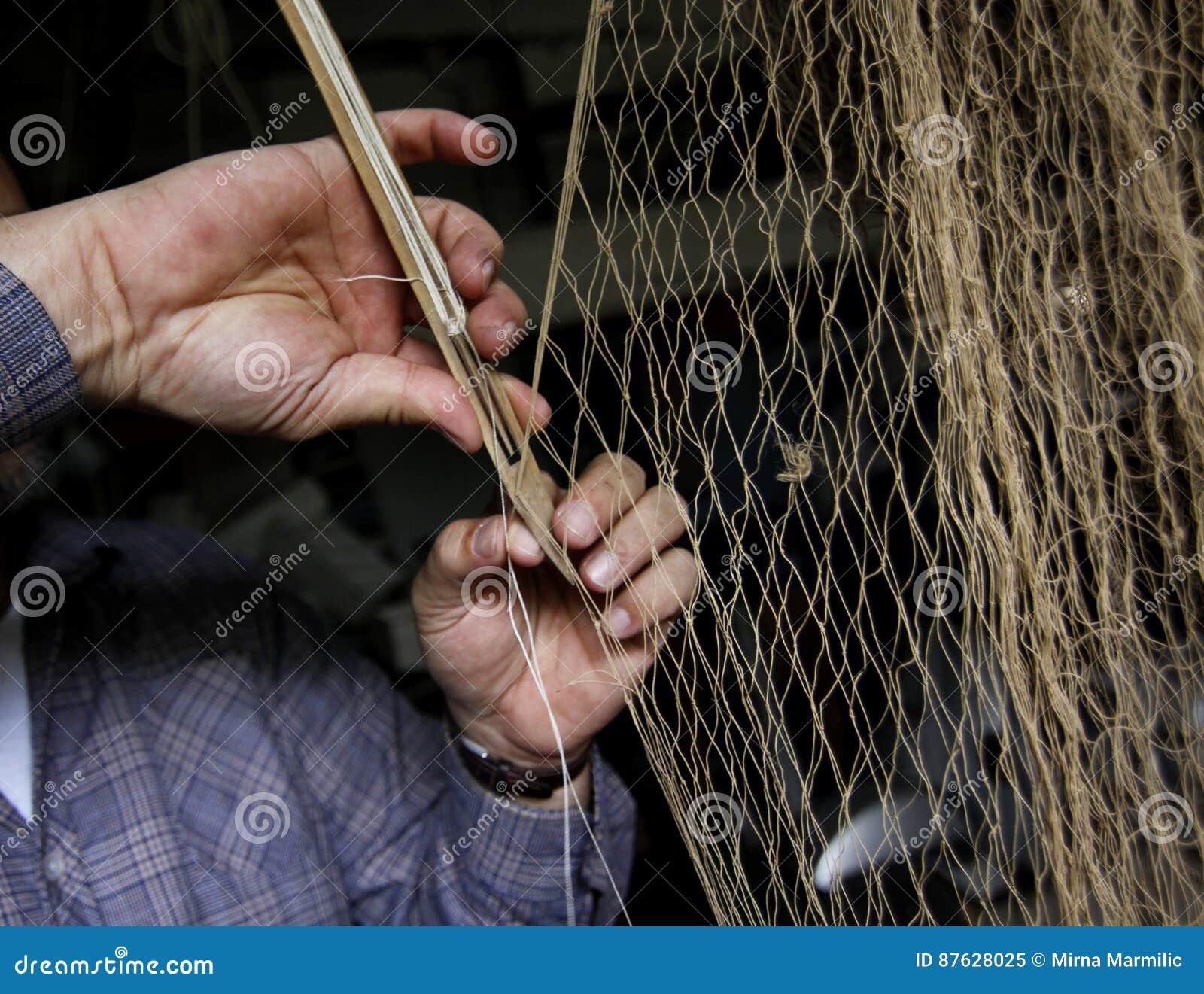 Red de pesca paching