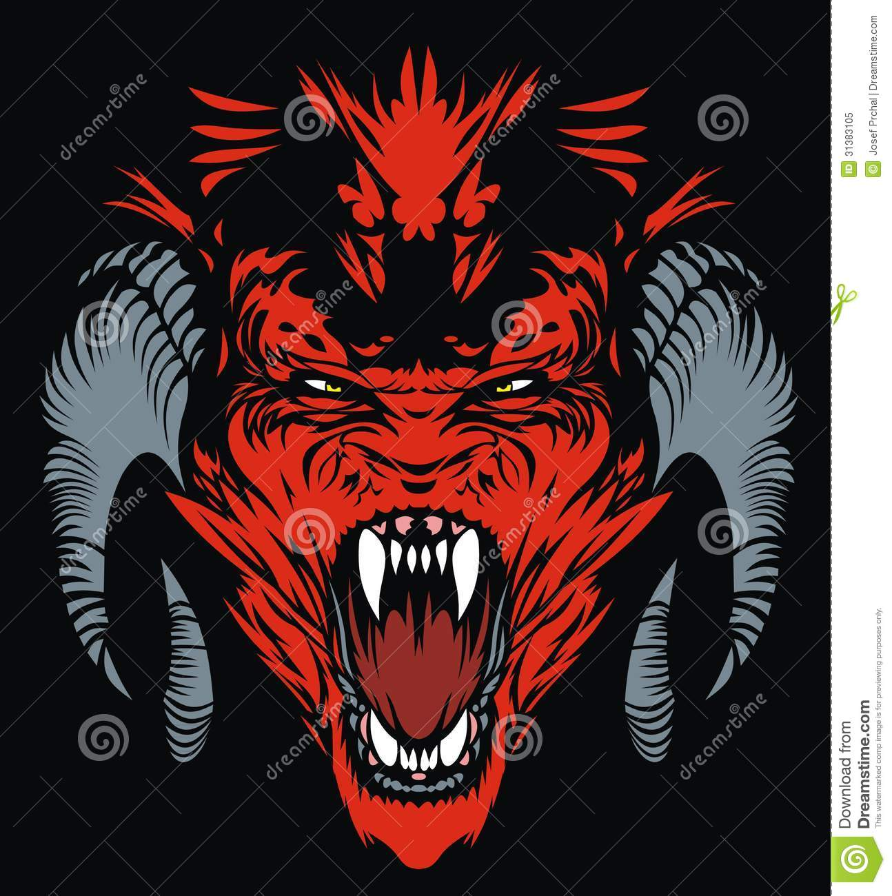 red devil royalty free stock photo image 31383105