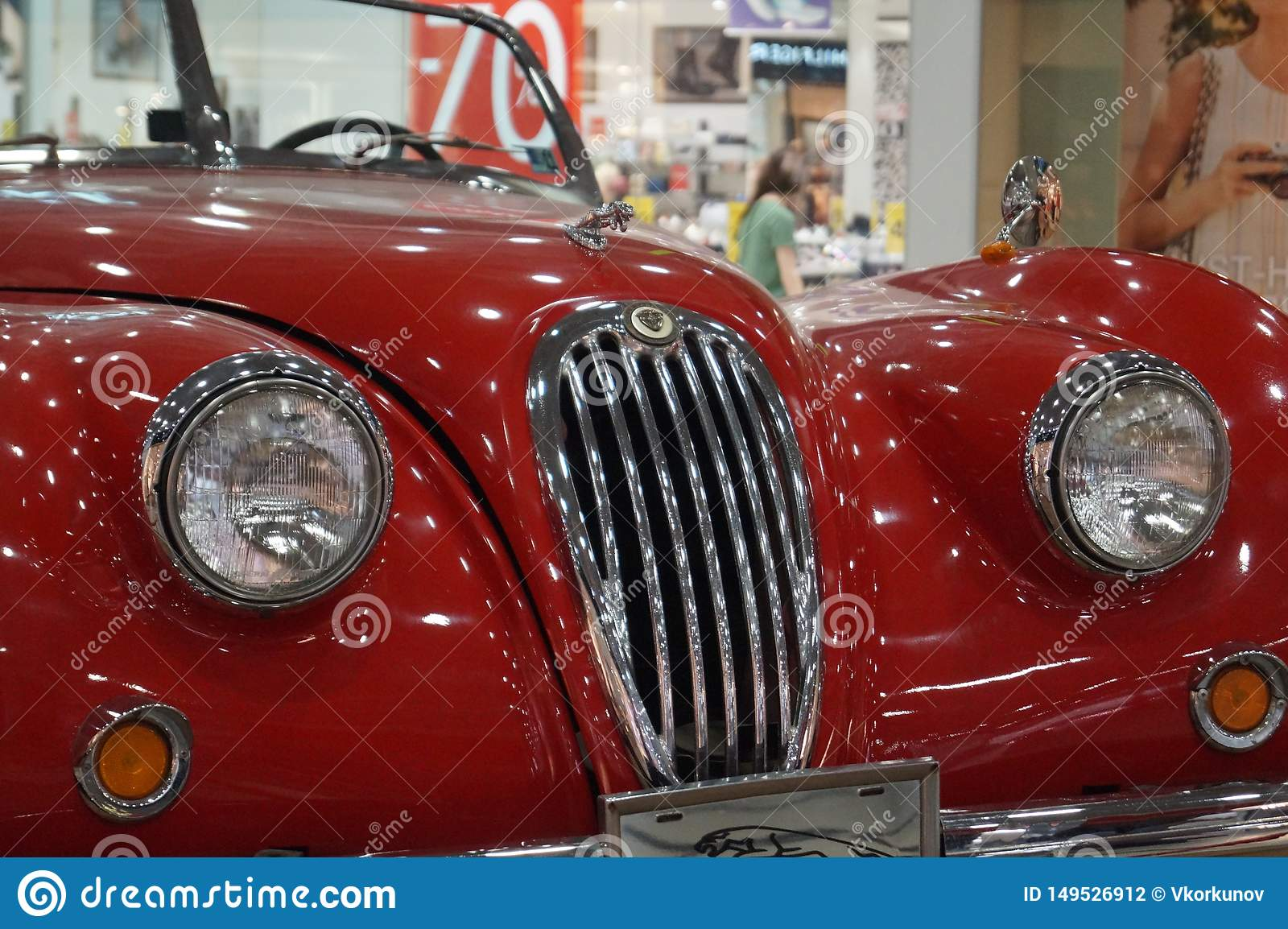 Red Devil Retired Undeservedly Retro Car Editorial Photography Image Of Lines Beast 149526912