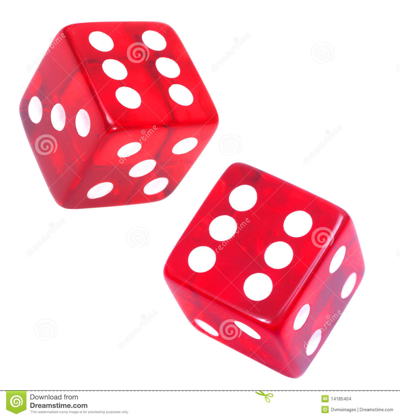 Download Red Dice stock photo. Image of cube, risk, casino, gamble - 14185404