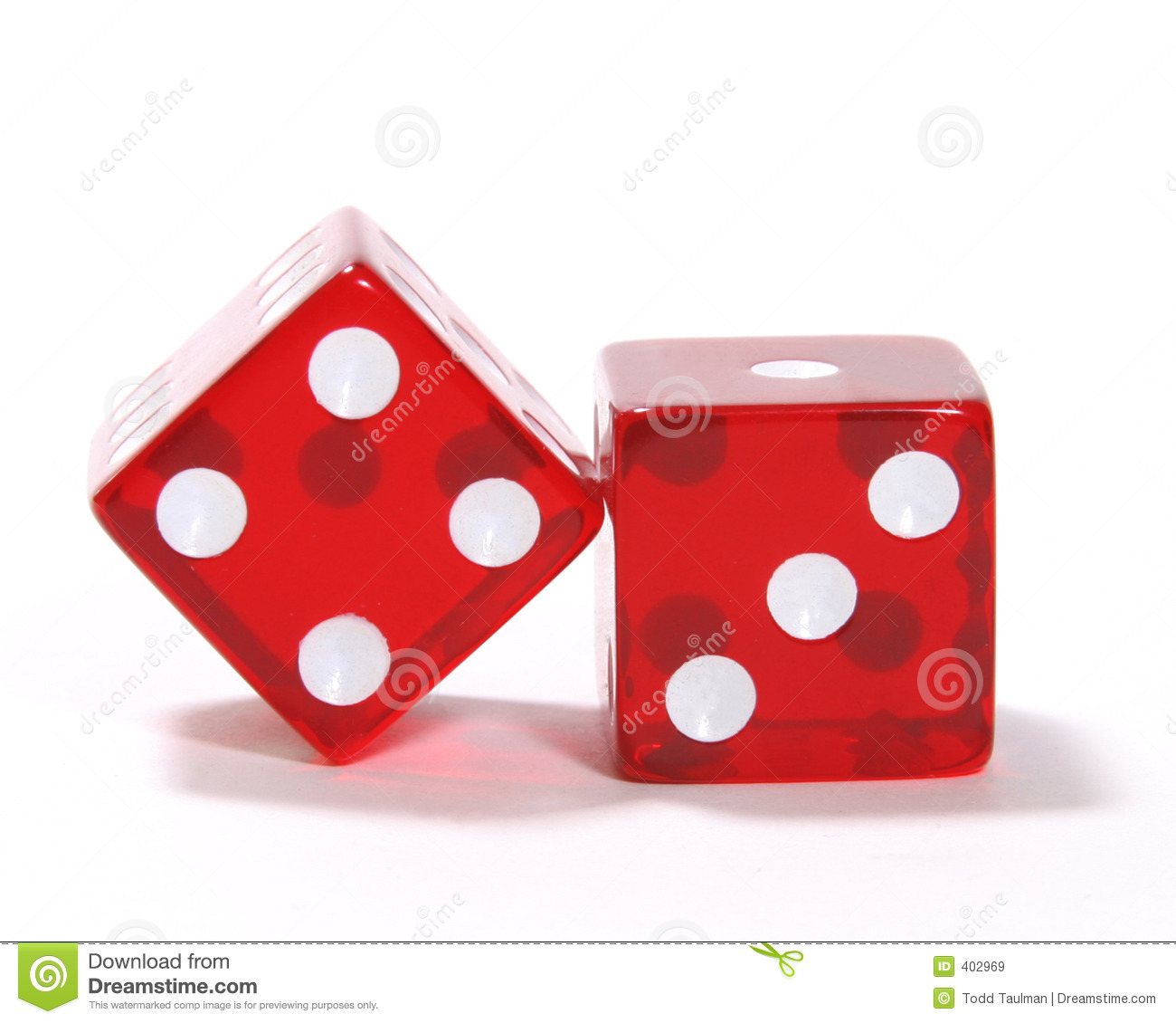 Red Dice Stock Image Image Of Vegas Roll Gaming Play