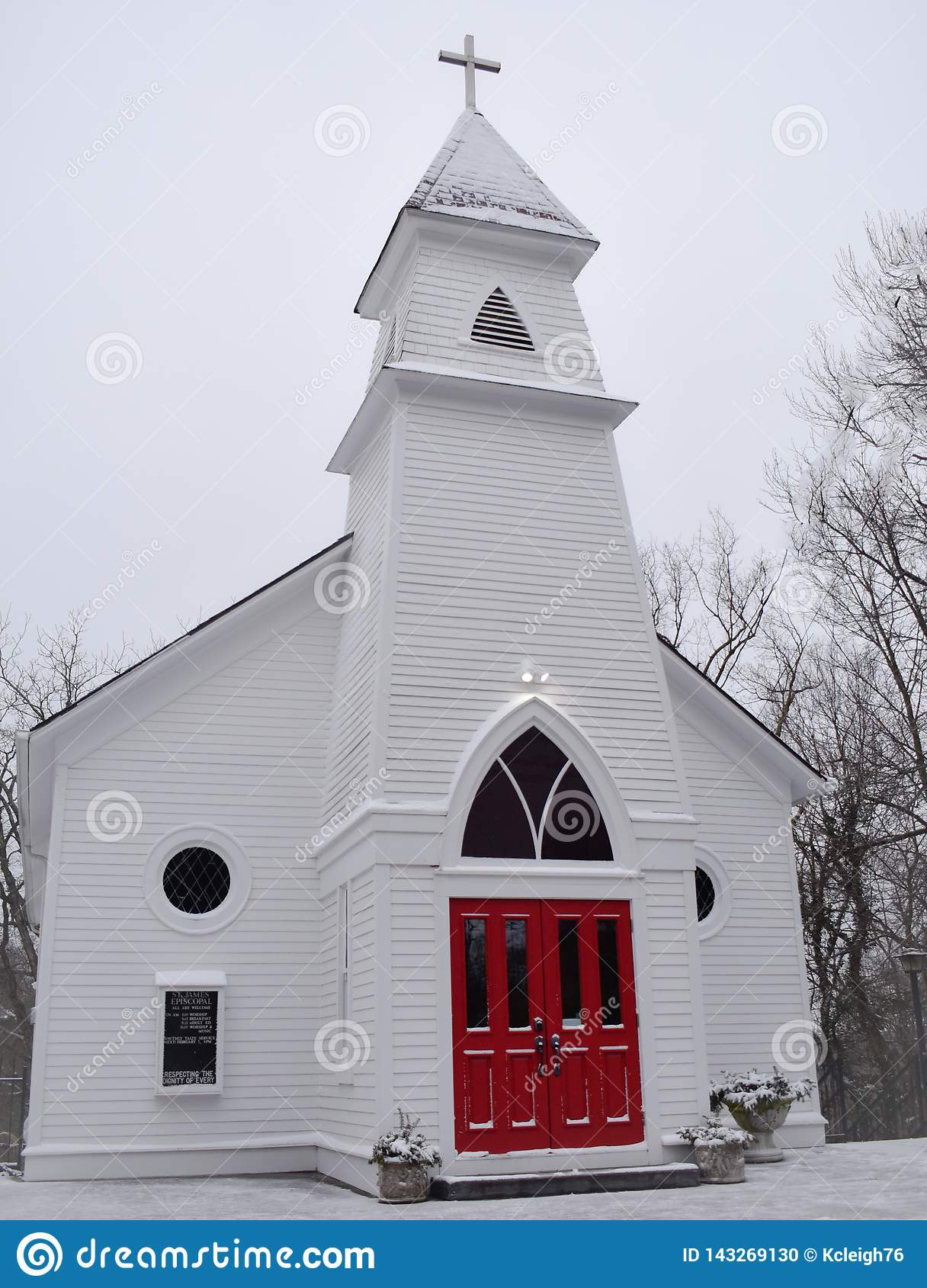 Red door church