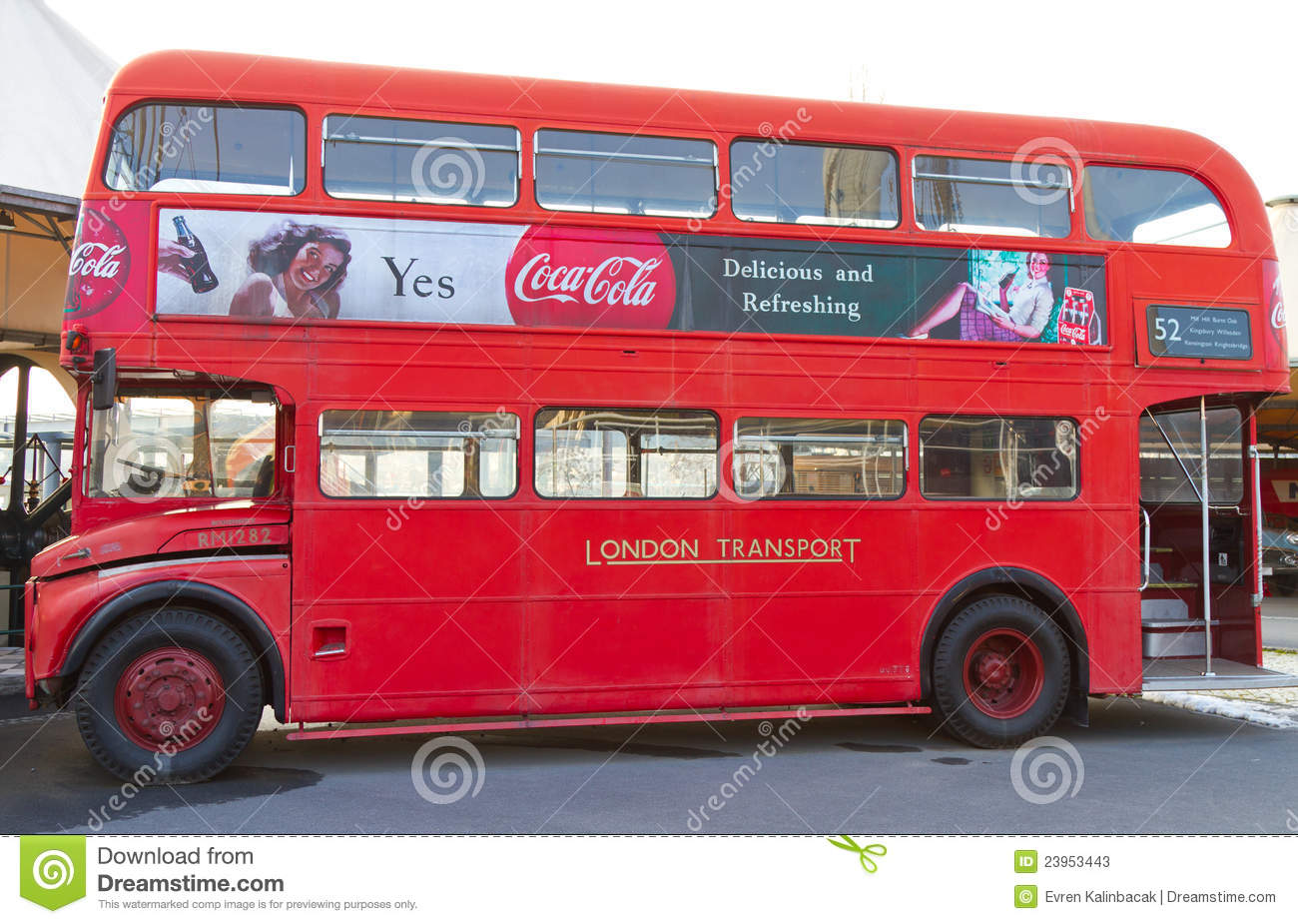 double decker red