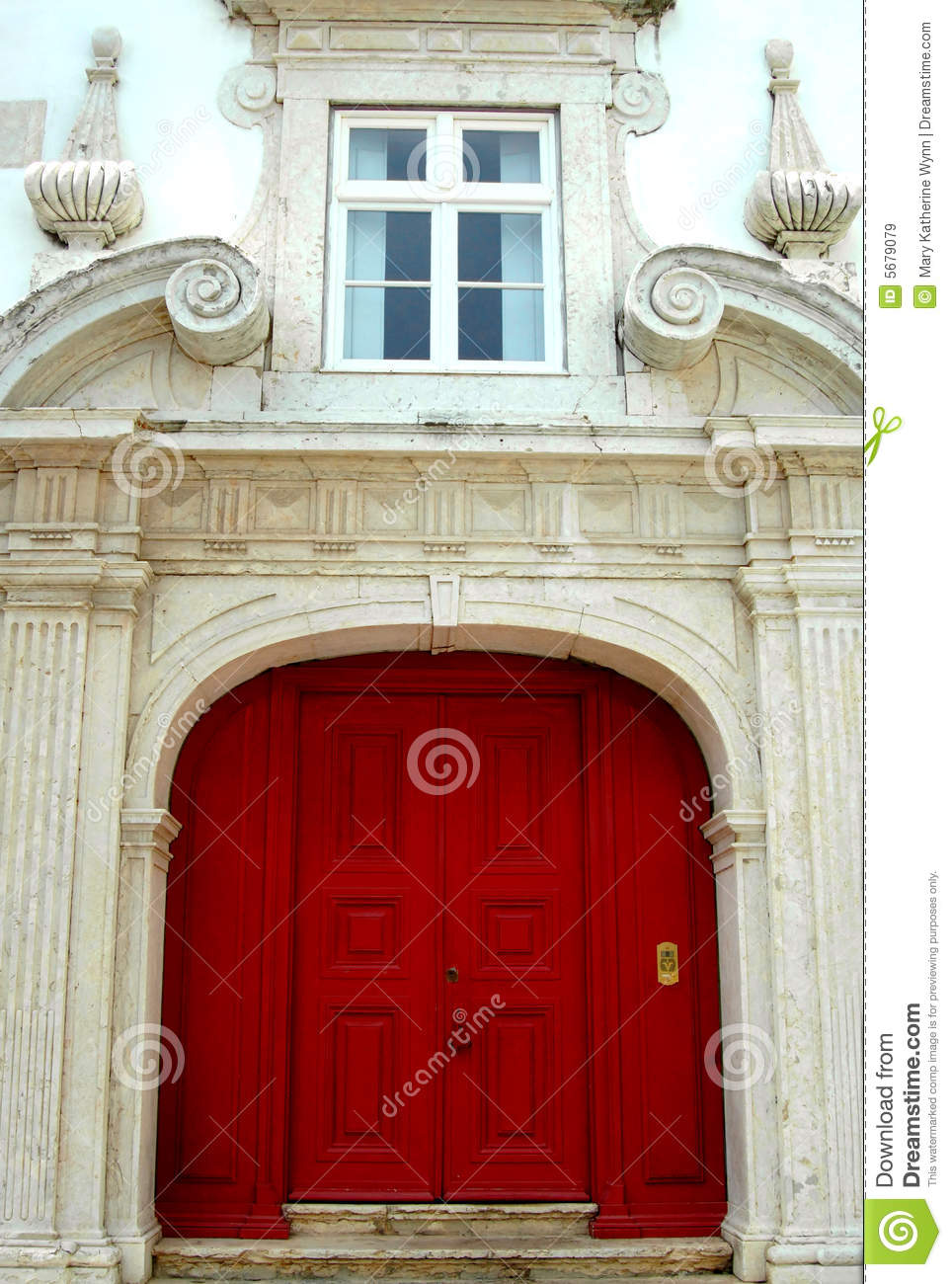 Red Double Doors Royalty Free Stock Images Image 5679079