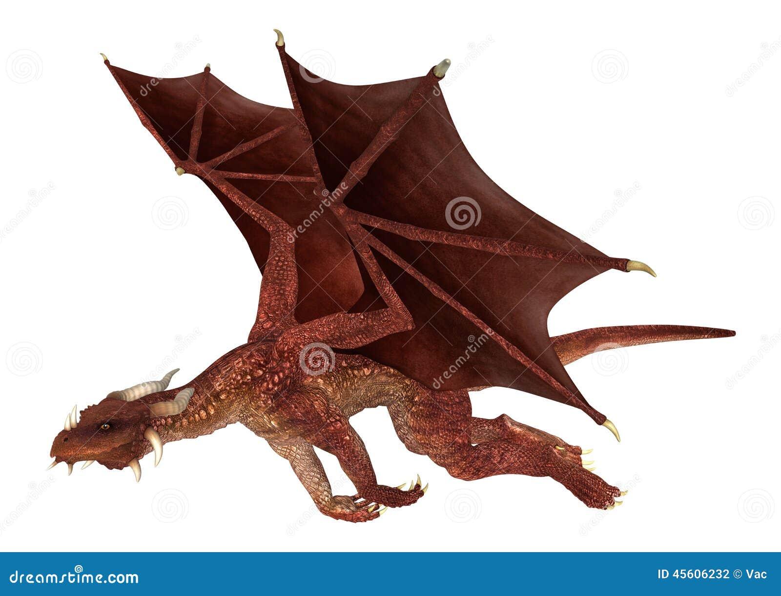 red dragon stock illustration image of fantasy