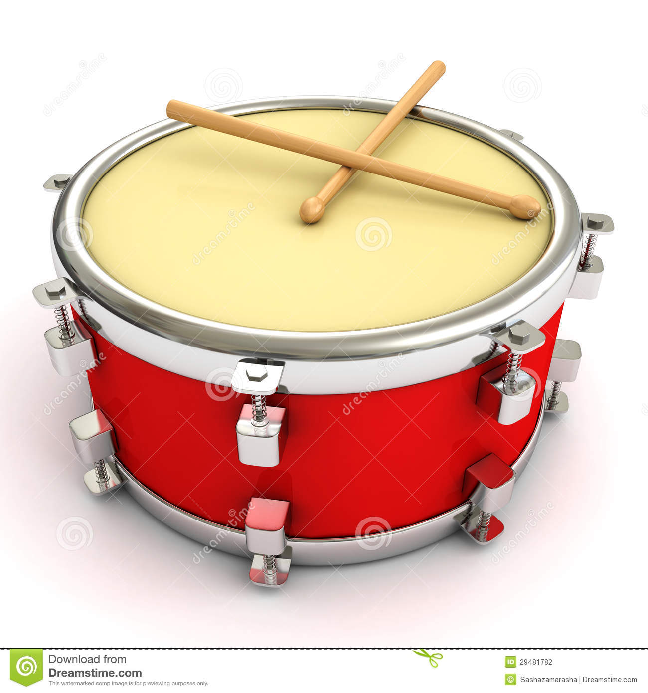 red drum and drumsticks on white background stock photography image 29481782 drum major clip art images marching band drum major clipart
