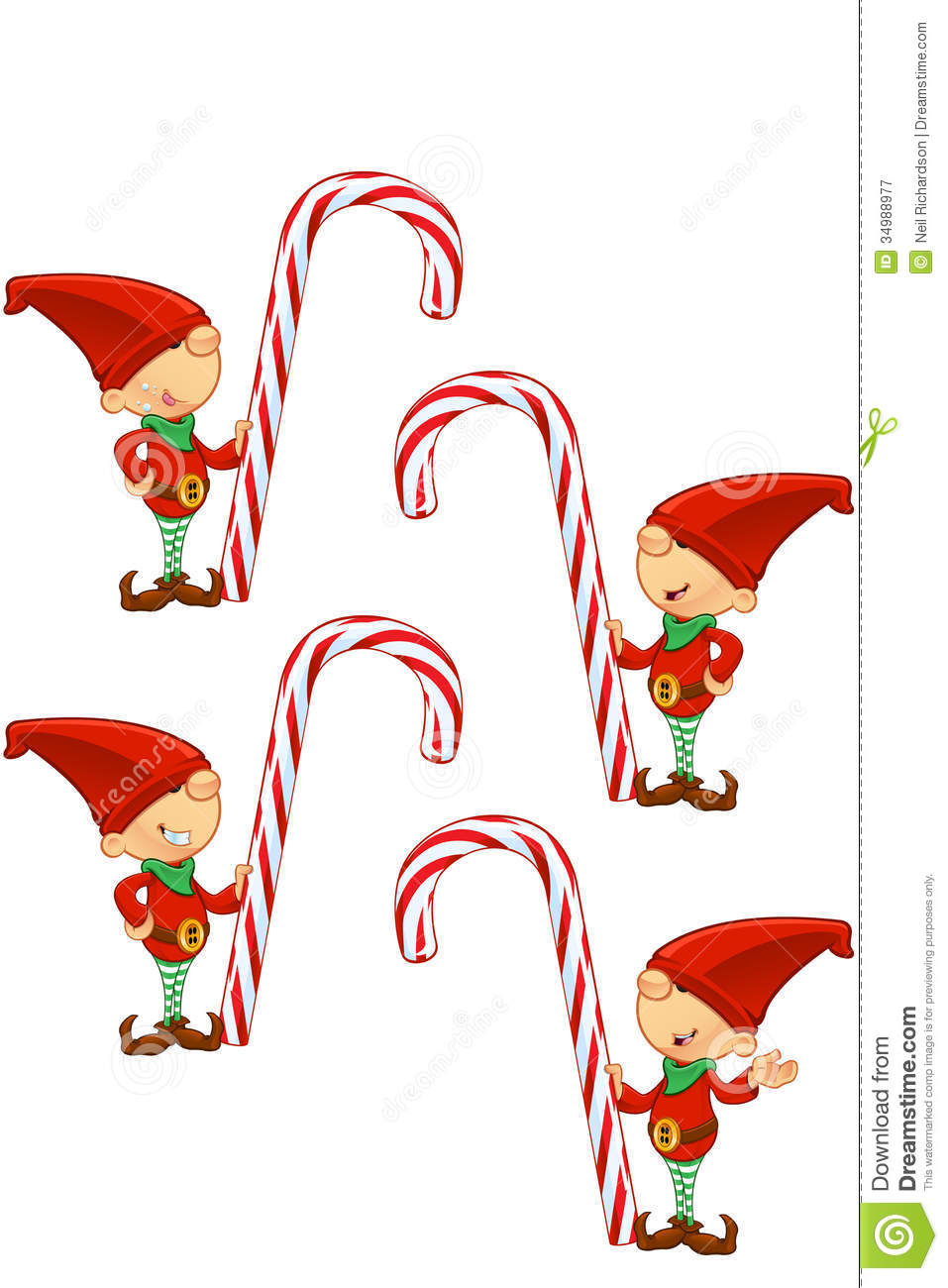 Candy Cane Toon Fantasy